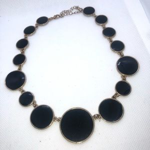 Charming Charlie Jewelry - Charming Charlie Black &Gold Statement Piece